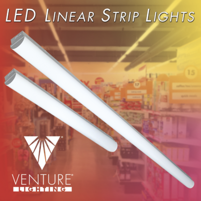 Venture Lighting Offering New DLC Premium LED Linear Strip Light Luminaires