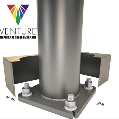 Steel Poles are now available from Venture Lighting