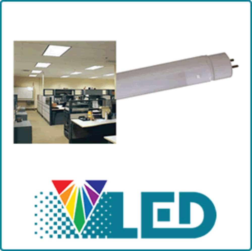 Led T8 Retrofit Lamps Venture Lighting Convert T12 To Wiring Diagram Lightings Use Half The Energy And Offer Up Twice Life Compared Standard Fluorescent