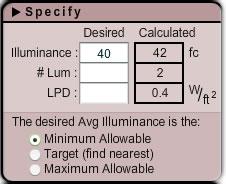 Indoor Lighting Design Tool