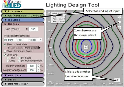 Outdoor Lighting Design Tool How It Works